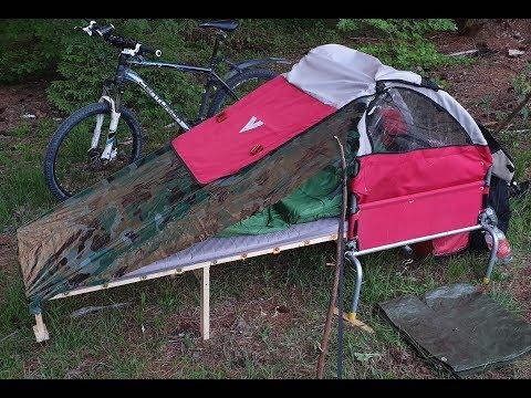 DiY Fahrrad-Camper // Erste Ausfahrt