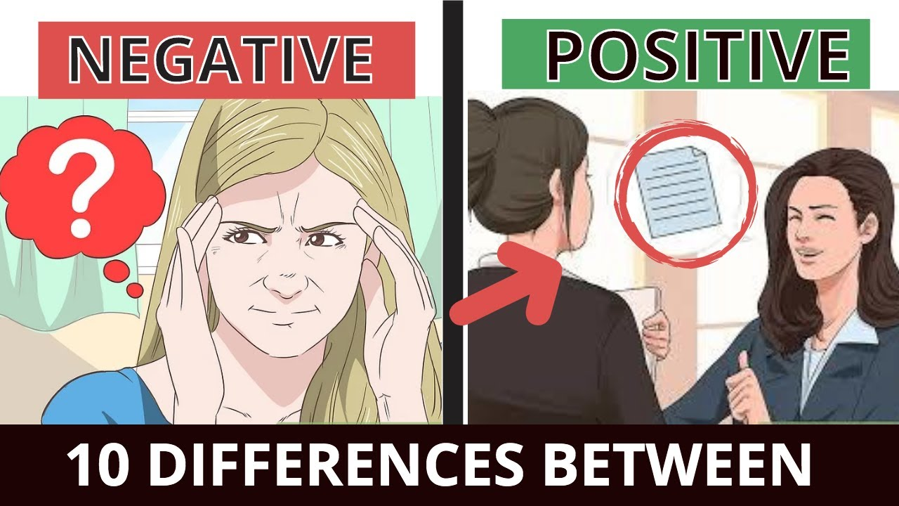 Download 10 DIFFERENCES between POSITIVE and NEGATIVE!  ऐसी सोच बर्बाद कर सकती है 10 COGNITIVE DISTORTIONS