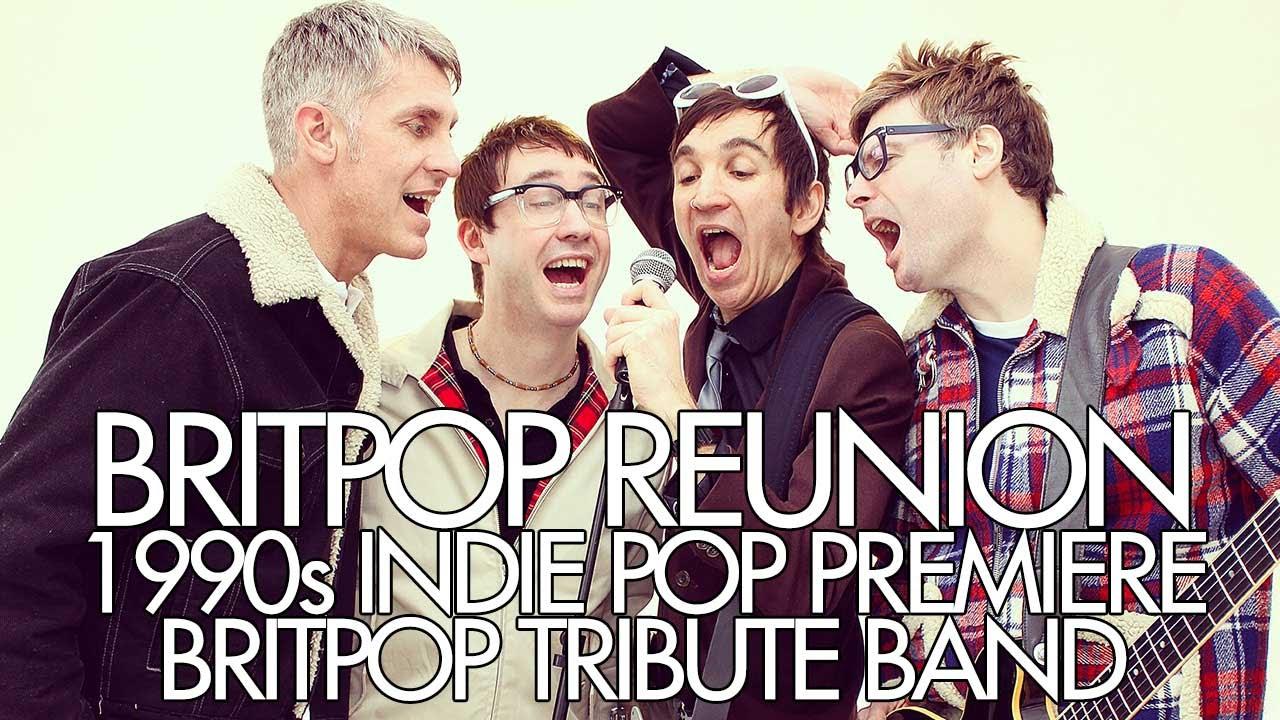 Britpop Reunion Promo Video (1990s Indie Pop Tribute Band)