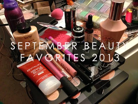September Beauty Favorites 2013