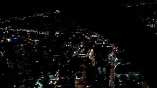 Schweizer 333 Denver Night Flight - High Definition (HD)