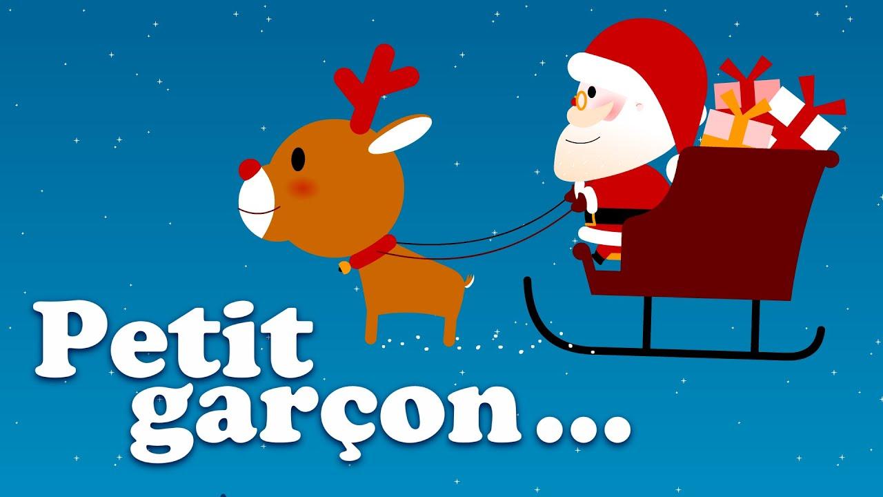 Dans Son Manteau Rouge Et Blanc Petit Garçon Chanson Et Comptine De Noël Pour Bébé Et Maternelles Youtube