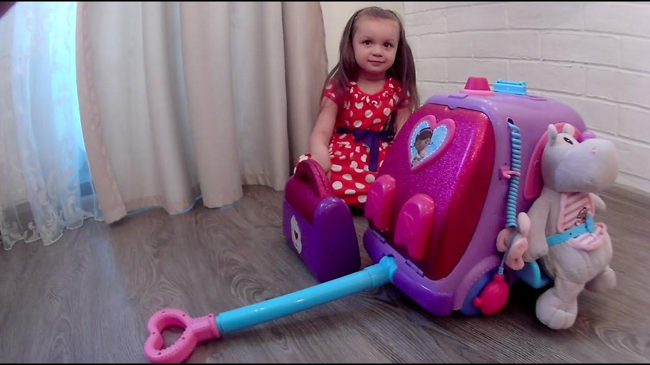 Купить Доктор Плюшева Игровой набор с куклой Время осмотра цвет .