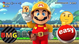 Top 10 Easiest Super Mario Maker Levels (That I've Played!)