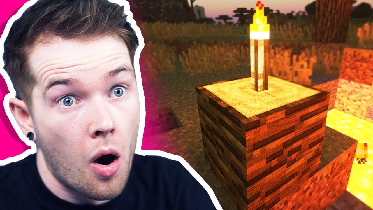 Minecraft, but it looks BETTER THAN REAL LIFE!