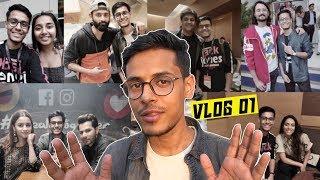 Vlog 01 | Kalank-Youtube Fanfest & More | Your Bong Guy ft. Ashish Chanchlani | BeerBiceps