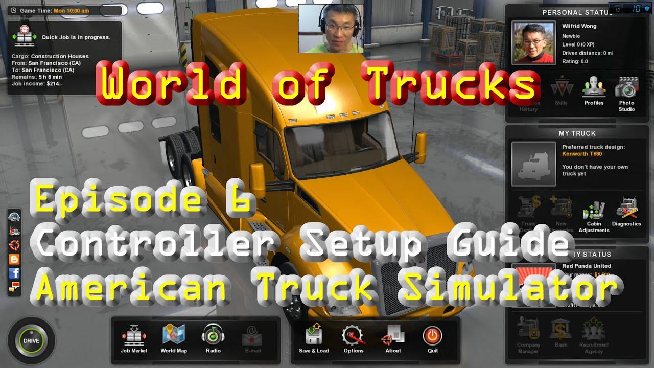American truck simulator 2019 episode 1 starting over youtube.