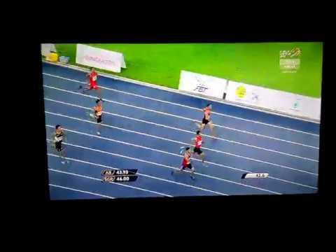 Men 400m Final 29th SEA Games 2017