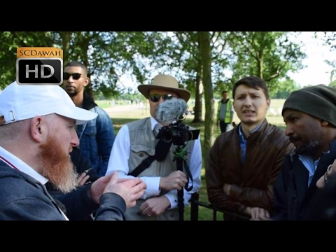 How am i Helbound! Hamza Vs Atheist | Speakers Corner | Hyde Park