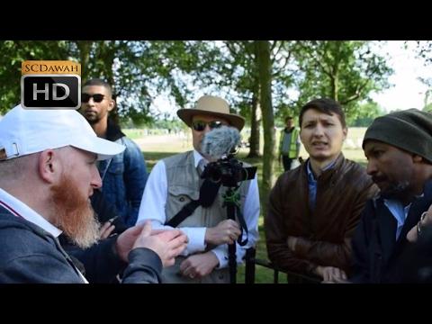 How am i Helbound! Hamza Vs Atheist | Speakers Corner | Hyde Park