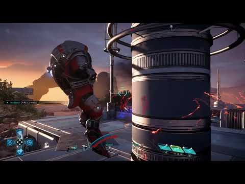 Krogan Engineer Powers Only Platinum Solo (Mass Effect Andromeda)