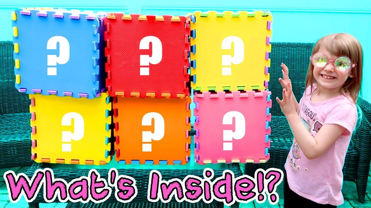 Giant Mystery Rainbow Cubes! What's Inside? Cutetitos ...