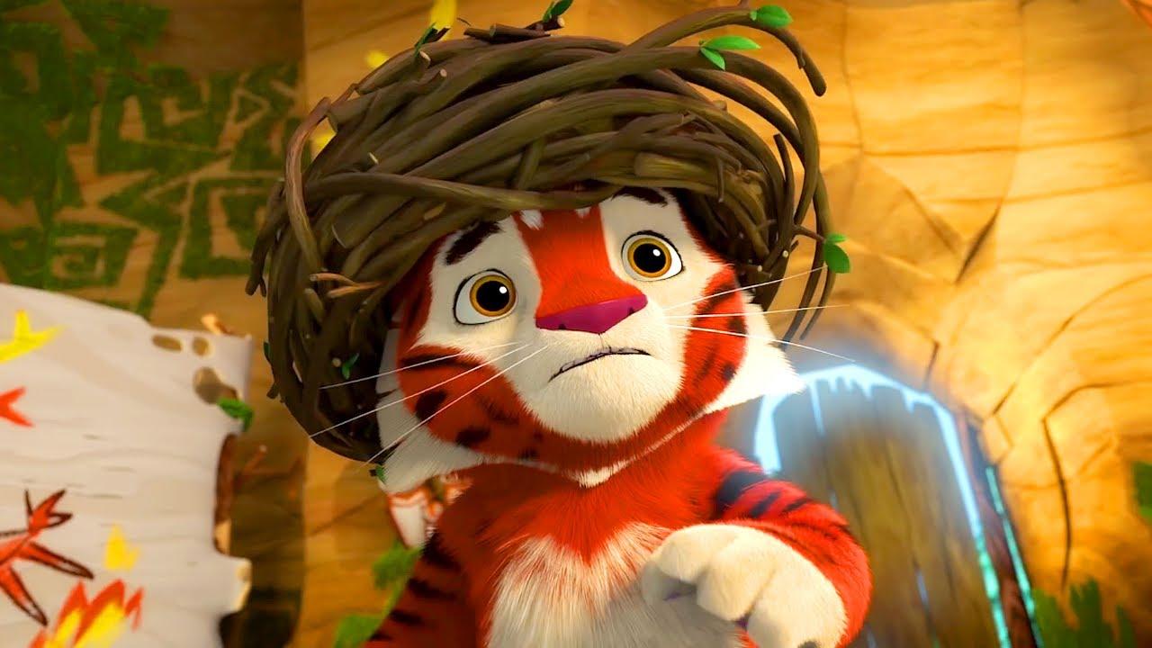 🐾 Лео и Тиг 🐾 – Серия 54 – Домовик | Мультик для детей про животных