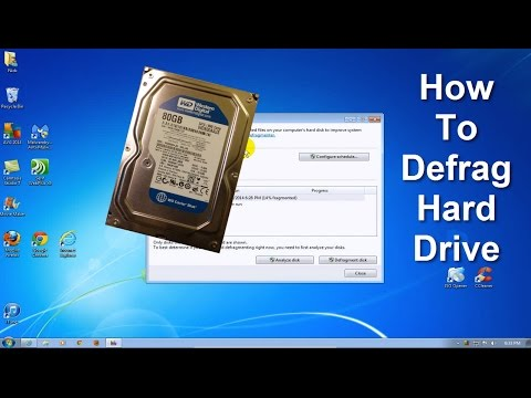 How to Defrag Windows 7, Windows 8.1 & How to Speed Up Your Computer!!!