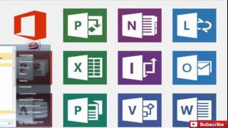 Video 123 : Comment T?l?charger Microsoft Office 2013  (WORD,EXCEL,POWERPOINT...)