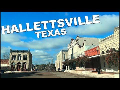 Hallettsville TEXAS Downtown Tour