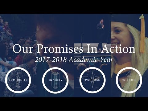 Our Promises in Action: 2017-2018 Academic Year Highlights