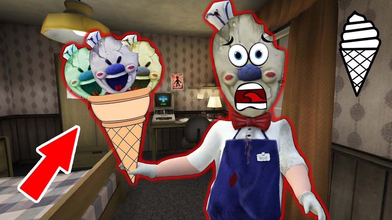 Funny Moments *Ice Scream* and *Funny Horror* (Collection of the best episodes Ice Scream p.47)