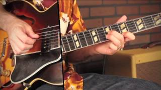 Swing guitar for the Jump blues Guitarist, teaser lesson by Tommy Harkenrider commercial