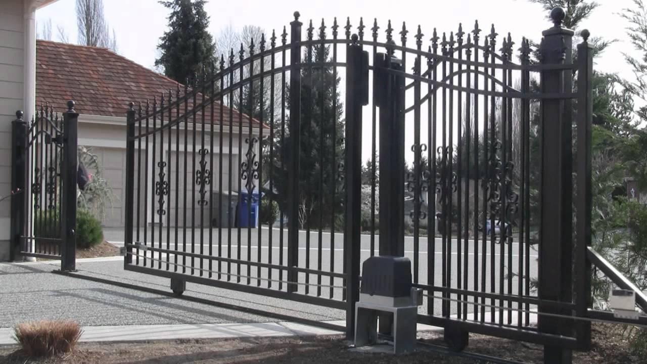 Aleko U00ae Ac1400 Slide Gate Motor Gate Opener