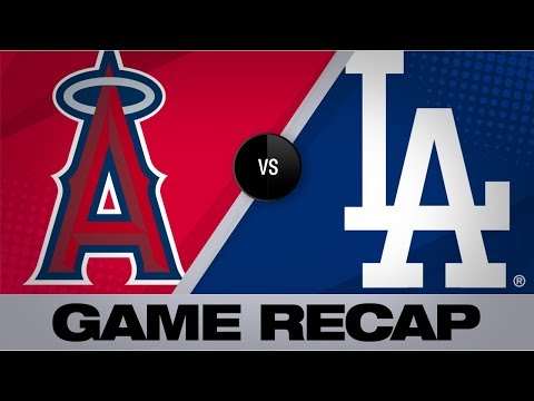 Calhoun's homer, 2 RBIs lead Angels | Angels-Dodgers Game Highlights 7/24/19
