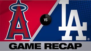 Calhoun's homer, 2 RBIs lead Angels | Angels-Dodgers Game Highlights 7/24/19