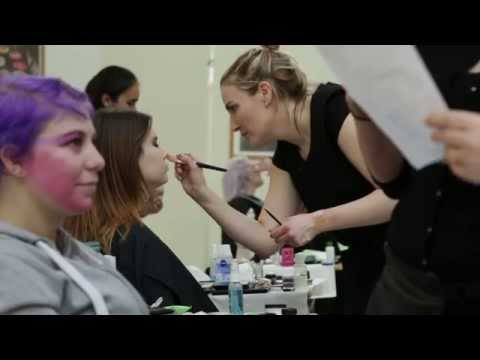 Newcastle College 2014 Make Up Artists Exam