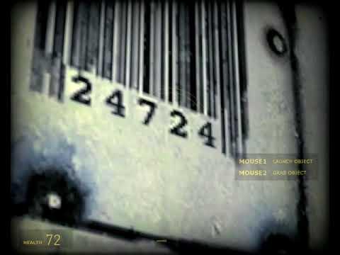 Half-Life 2 Episode Two - Easter Egg Freeman Barcode 24724