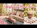CHRISTMAS HOME TOUR 2019 | COZY RUSTIC GLAM + TRADITIONAL CHRISTMAS | Cook Clean And Repeat