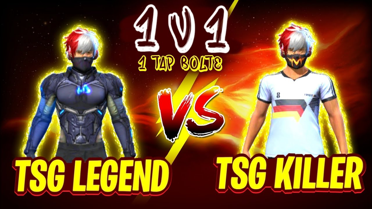 TSG KILLER VS TSG LEGEND || ONLY 1 TAP 🔥 || TAPATAP HEADSHOTS 💥 || MUST WATCH ❤️