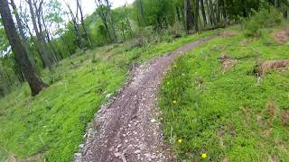 Trexler Game Preserve - Half Pipe 2 (I think) Downhills