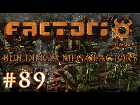 Factorio - Building a Mega Factory: Part 89 Feeding the new science setup