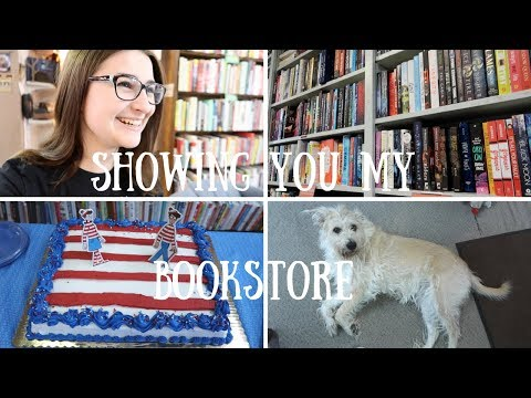 VLOG | SHOWING YOU MY BOOKSTORE!!
