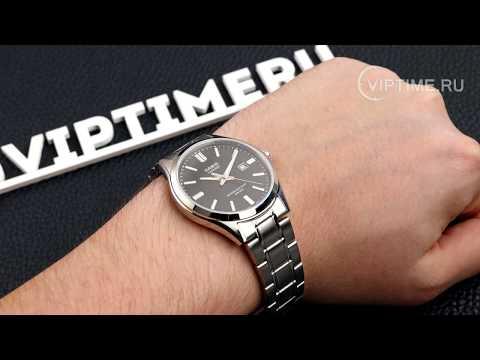 Обзор наручных часов Casio MTS-100D-1AVEF от магазина Viptime.ru