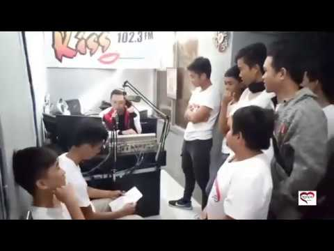 102.3 Kiss Fm Bohol Live Interview of Agape Viners