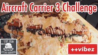 Top Gun Burgers - Aircraft Carrier 3 CHALLENGE | TT Eatz