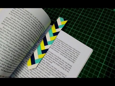 How To Make Simple Easy Paper Bookmark Diy Paper Craft Ideas