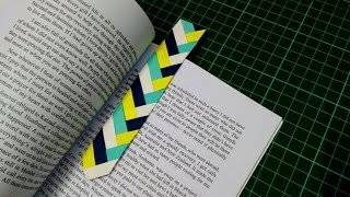 How to make simple & easy paper bookmark | DIY Paper Craft Ideas, Videos & Tutorials.