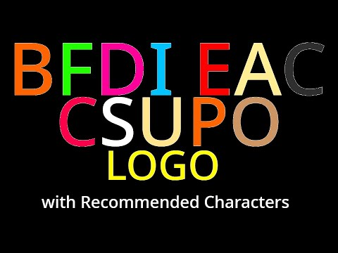 bfdi-eac-csupo-logo-with-recommended-characters!