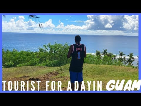 Tourist for a day in Guam