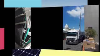 九月太陽能板發電系統施工