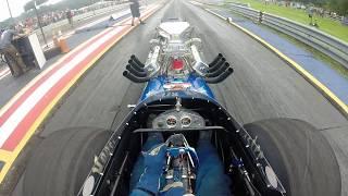 Ed Bliss Jr. Front engine dragster