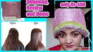 *सबसे सस्ता*Hair Spa Cap review and demo/Flipkart,Amazon