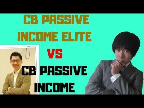 CB Passive Income Elite VS CB Passive Income