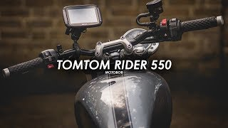 TomTom's Best Motorcycle Sat Nav: Rider 550 Review