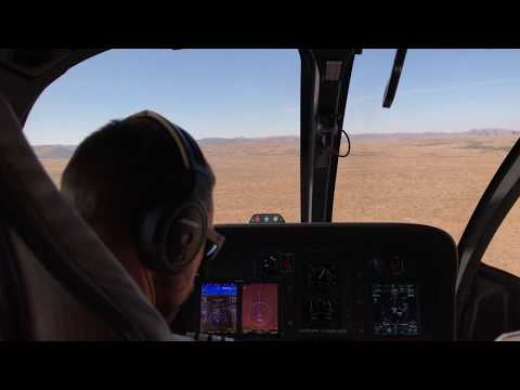 Leaving Grand Canyon by helicopter