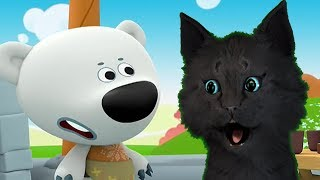Ми-Ми-Мишки 2 Мультизнайка Обучающие Игры С ГОВОРЯЩИМ СУПЕР КОТОМ ( ИГРА для ДЕТЕЙ )