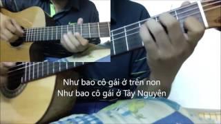 Co gai vot chong (Anh Tho) [Hoa tau Duo Guitar] [K'K]