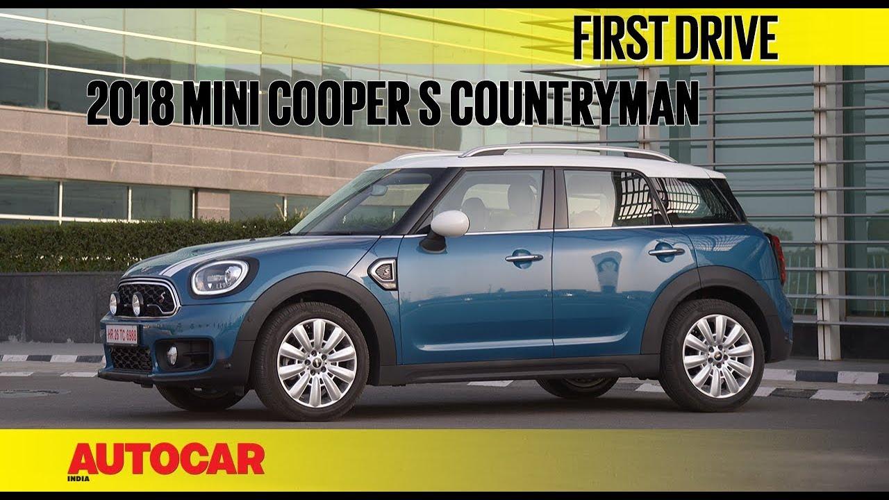 2018 Mini Countryman Exclusive India Drive Autocar India Youtube