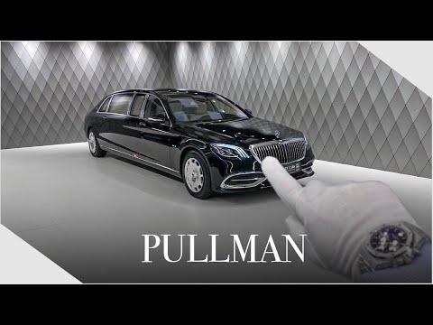 The PRESIDENT's Car ! Mercedes Maybach PULLMAN - Detailed Walkaround | Luxury Cars Hamburg